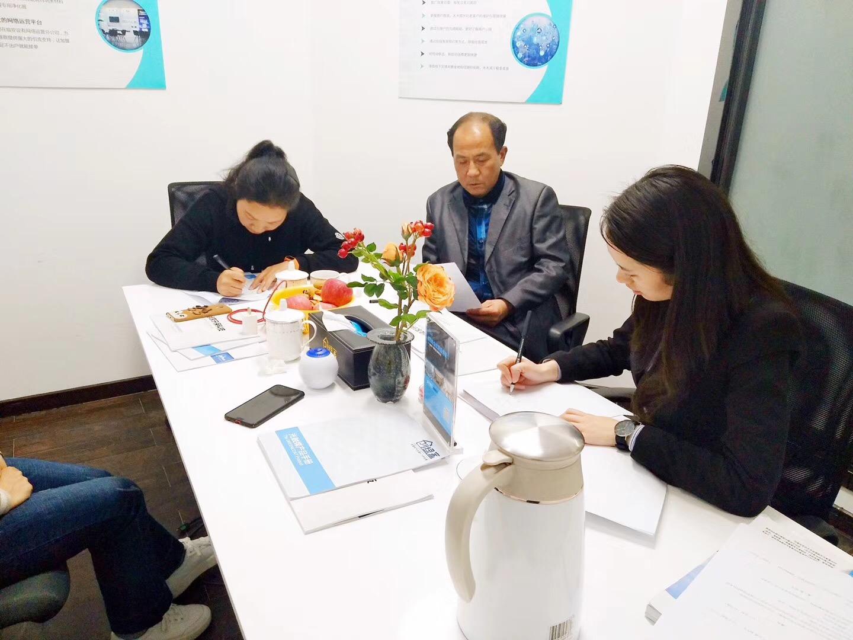 热烈祝贺李总签约创绿家抚州市区级代理!