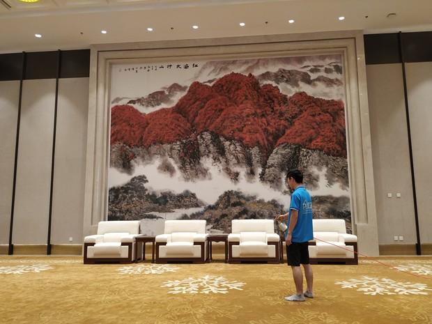 """创绿家环保助力石家庄国际会展中心成为中国首个""""绿色三星""""会展中心!"""