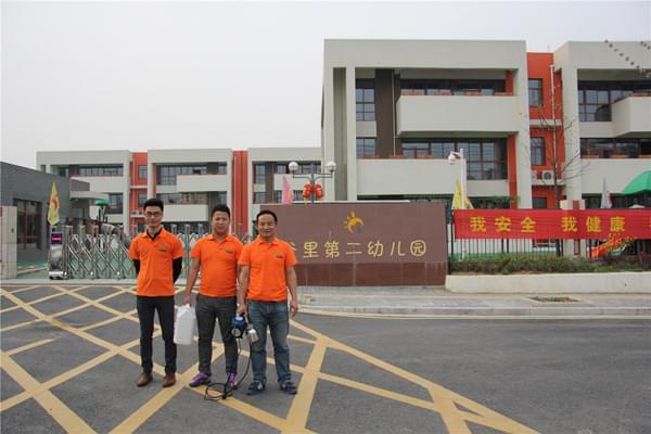 江苏南京江宁区谷里幼儿园室内空气治理服务