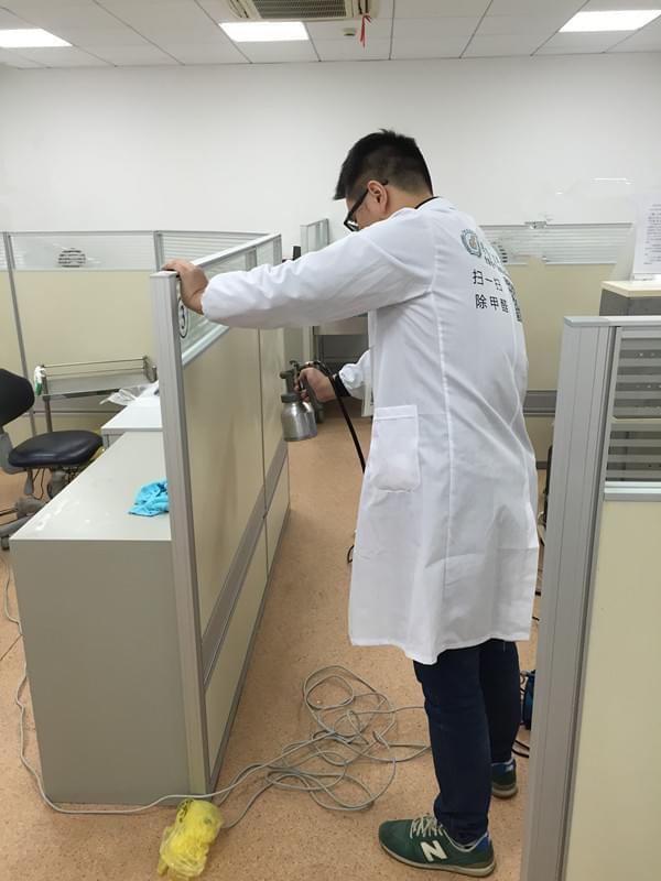 宁波银行室内空气治理服务