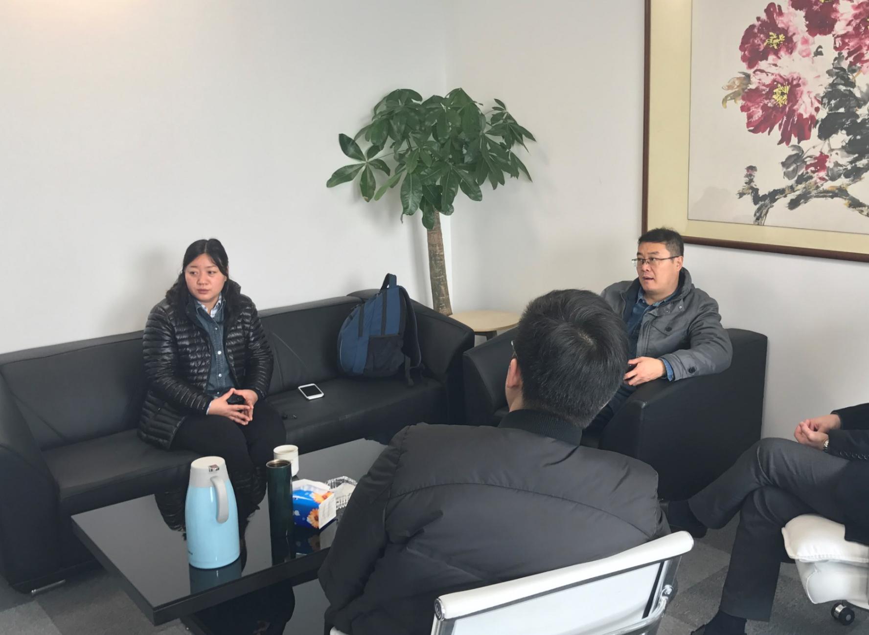 中室协净化委秘书长杨军、执行主任尚婕莅临创绿家指导工作!