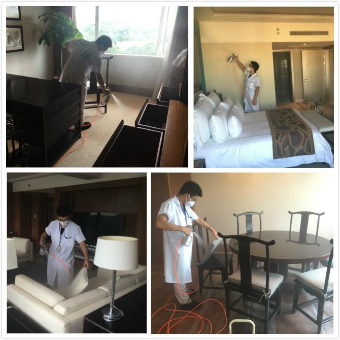 北京美高美国际酒店室内空气治理服务
