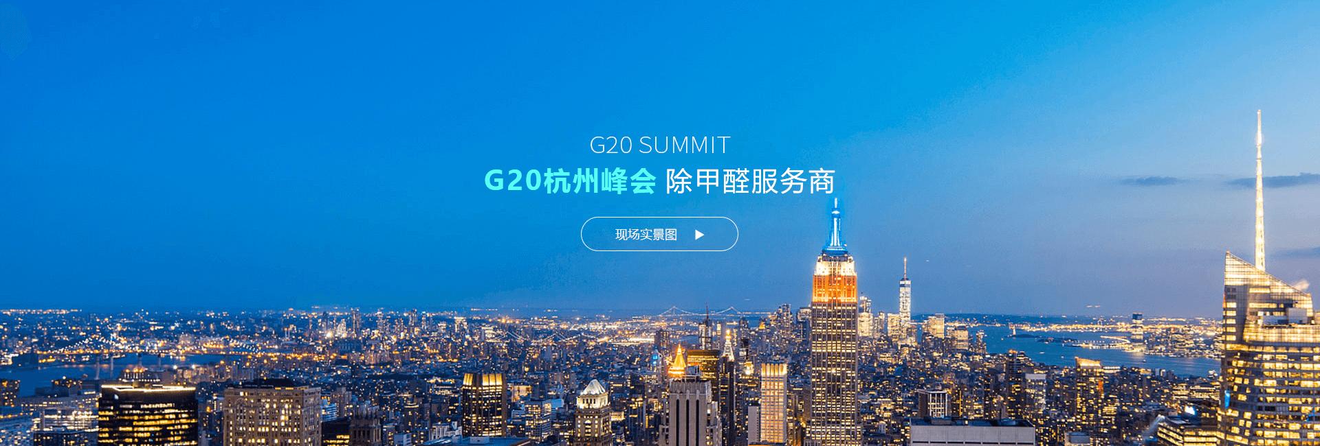 G20峰会优质除甲醛企业